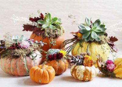 Pumpkin Centerpiece Workshop