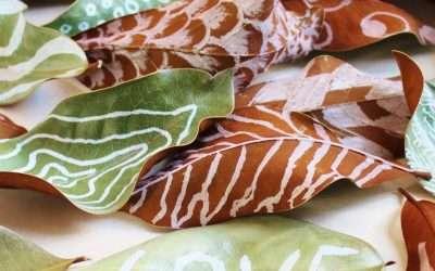 Art of Leaf Painting