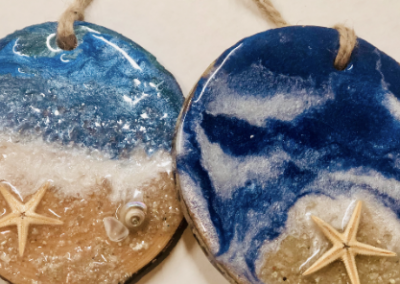 Make Your Own Seaside Ornaments
